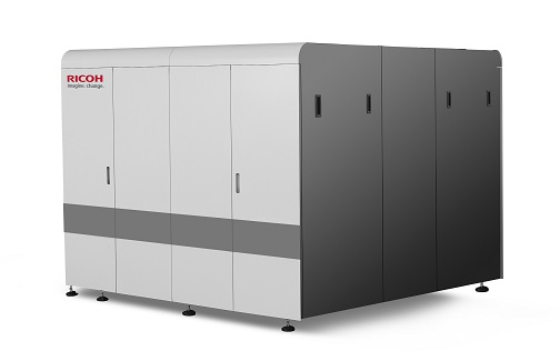 The Ricoh Pro™ V20000 series continuous feed inkjet platform will be unveiled globally at Art of The New